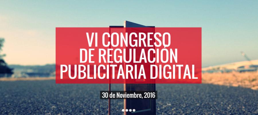 vi congreso de regulación publicitaria IAB 30 noviembre 2016 madrid