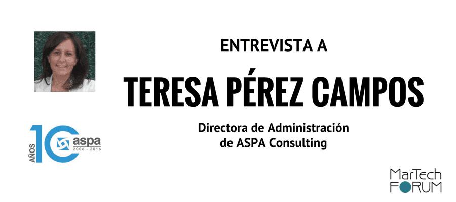 herramienta de marketing digital ASPA Consulting Teresa Perez Campos Entrevista
