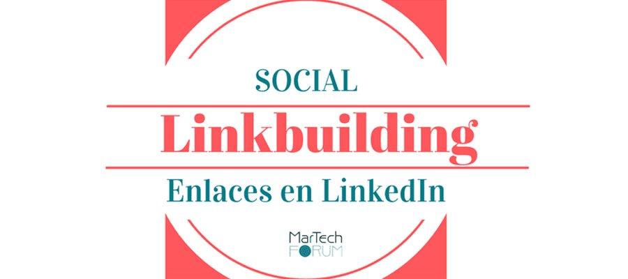 LinkBuilding de SEO social | MarTech Forum