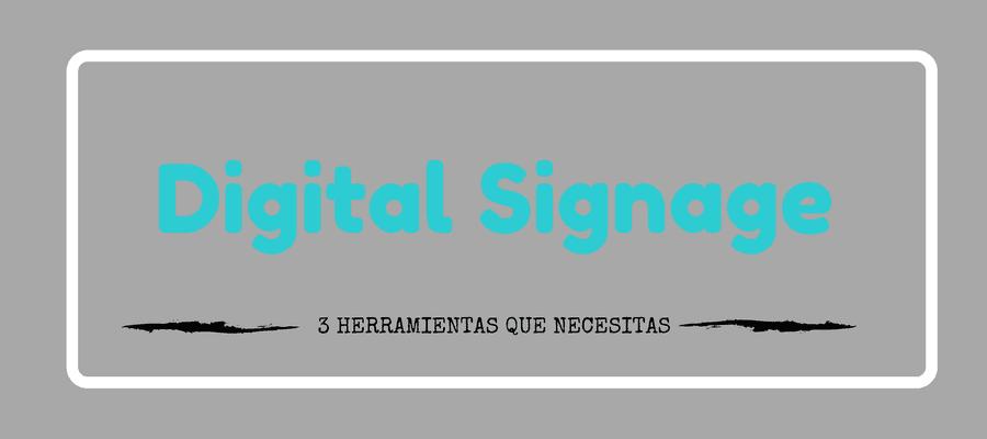 hacer digital signage