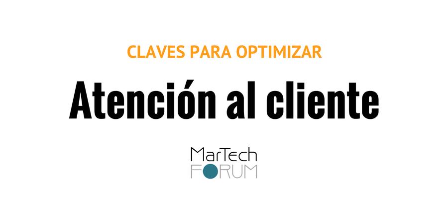 optimizar la atención al cliente