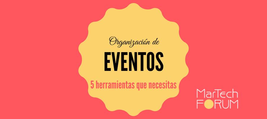 Organización de eventos | MarTech FORUM