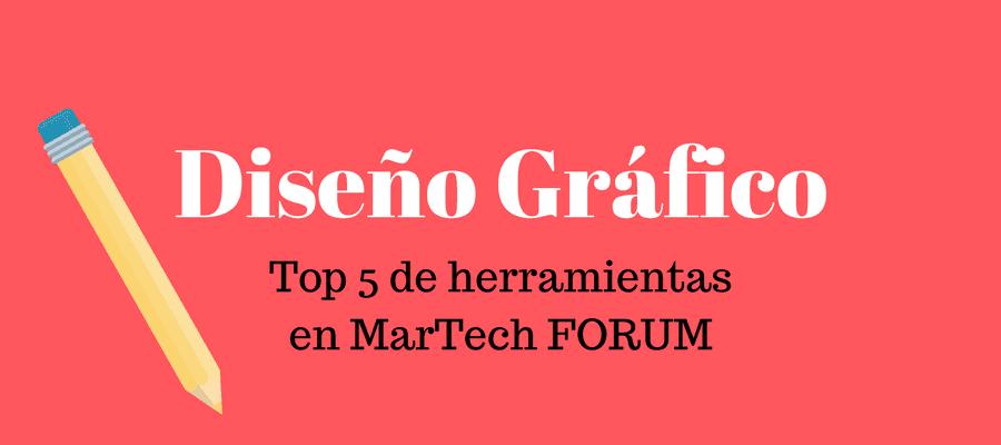 Herramientas de diseño gráfico | MarTech FORUM