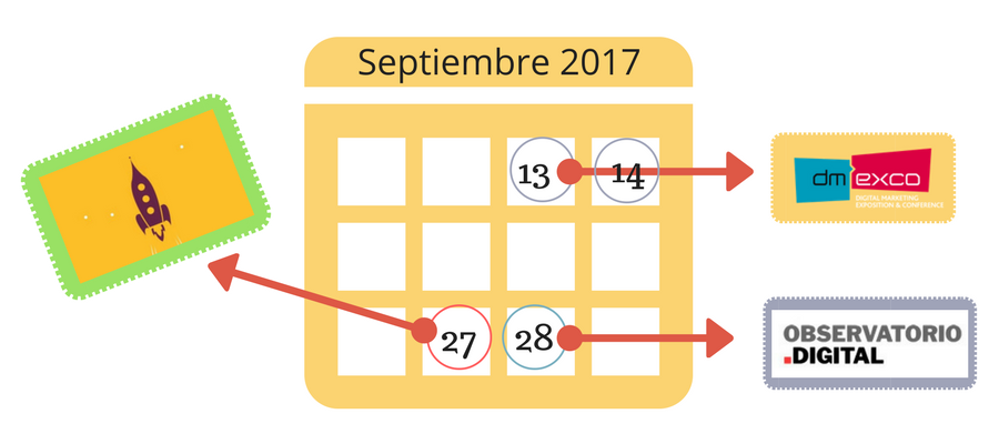 Eventos de Marketing Septiembre 2017 MarTech FORUM