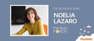 Entrevista Noelia Lázaro - Packlink | MarTech Forum