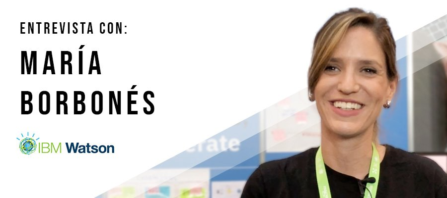 María Borbonés de Watson IBM | MarTech Forum