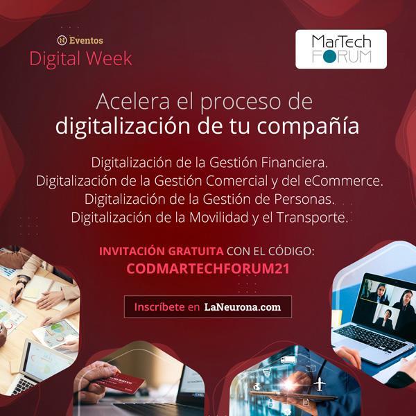 Te invitamos a la Digital Week 2021